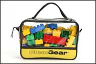 Clear Gear is great for storing toys with lots of small parts.
