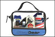 Use Clear Gear for Travel Toiletries